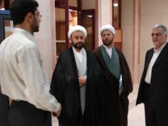 دیدار حجت الاسلام و المسلمین نقویان به همراه مهندس ابراهیمی با مدیرعامل و معاونین مؤسسه اهل البیت