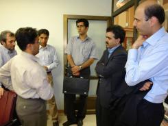 دیدار ناگش گردشگر خارجی از هندوستان با معاونین موسسه اهل البیت؛ 1385/05/03