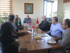 دیدار مدیران بیمارستان های خیریه ای اصفهان به همراه مدیرعامل مجمع خیرین سلامت استان با دکتر فولادگر