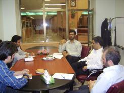 دیدار دکتر کرمانی با معاونین موسسه اهل البیت