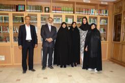 دیدار اعضای کتابخانه ملی تهران و اصفهان با مدیرعامل و معاونین مؤسسه اهل البیت