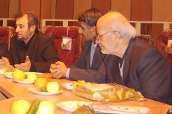بازدید آقای علی اکبر اشعری از مؤسسه اهل البیت؛ رئیس کتابخانه ملی ایران؛ 1384/11/16
