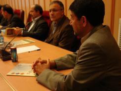 جلسه دکتر غلامرضا قربانی و هیات رئیسه با  با مدیرعامل و معاونین مؤسسه اهل البیت