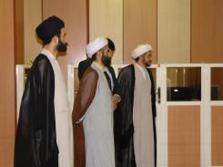 بازدید گروه صدیق از سالن کتابخانه دیجیتالی اهل البیت «ع»
