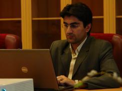 آقآی امیرشاهی معاونت فناوری اطلاعات موسسه