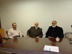 دیدار دکتر سید محمد تقی طیب با مدیرعامل و معاونین موسسه اهل البیت؛ 1388/04/09