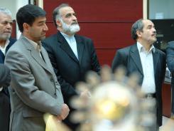 دیدار دکتر غلامرضا قربانی و هیات رئیسه دانشگاه صنعتی با آقای سید حسین رضازاده