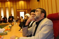دیدار حجت الاسلام و المسلمین حاج سید جواد شهرستانی و هیات همراه ایشان با مدیرعامل و معاونین مؤسسه اهل البیت