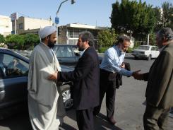 دیدار مدیر مرکز تحقیقات کامپیوتری علوم اسلامی قم با مدیرعامل و معاونین موسسه