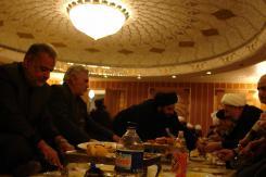 دیدار هیئت عالی رتبه دفتر حضرت آیت الله العظمی سیستانی و جلسه با مدیرعامل و معاونین مؤسسه اهل البیت