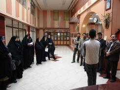 بازدید دبیران آموزش و پرورش ناحیه یک استان اصفهان؛ 1391/09/23