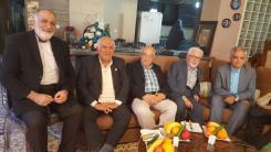 عیادت از جناب آقای محمدعلی خامی یکی از اعضای هیئت مدیره مجمع خیرین سلامت اصفهان