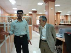 دیدار دکتر بدری با مدیرعامل و معاونین موسسه اهل البیت؛ کتابخانه دیجیتال موسسه