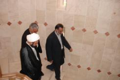 بازدید حجت الاسلام و المسلمین نقویان به همراه مهندس ابراهیمی از مؤسسه اهل البیت