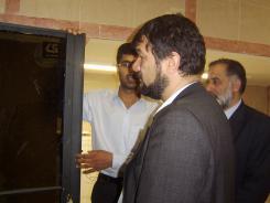 دیدار دکتر فرامرز هندسی با مدیرعامل موسسه اهل البیت؛ 1385/04/03