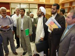 کتابخانه دیجیتال موسسه؛ جمعی از شخصیت های حوزوی و تبلیغی؛ 1385/04/11