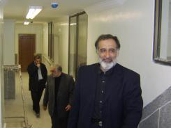 دیدار دکتر محمد اسدی گرمارودی با مدیرعامل و معاونین موسسه اهل البیت