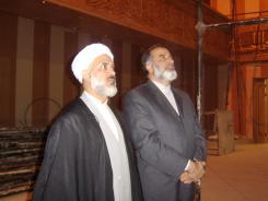 دیدار حجت الاسلام و المسلمین صفرزاده با مدیرعامل و معاونین موسسه اهل البیت