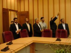 دیدار مهندس عبدالمجید ریاضی با مدیرعامل و معاونین موسسه اهل البیت؛ 1385/05/03
