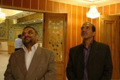دیدار جناب آقای دکتر حمیدرضا آیت اللهی با مدیرعامل و معاونین موسسه اهل البیت؛ 1390/04/09