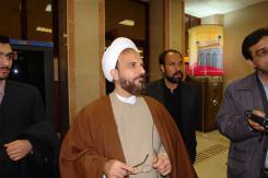 دیتاسنتر مؤسسه؛ بازدید حجت الاسلام و المسلمین عراقی از مؤسسه اهل البیت