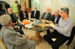 بازدید جمعی از خیرین و ورزشکاران از مرکز تخصصی خیریه بهداشتی درمانی حضرت ابوالفضل (ع)