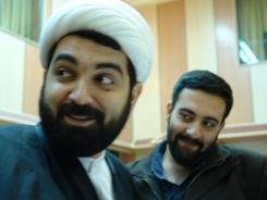 دیدار حجت الاسلام و المسلمین دکتر شهاب مرادی با مدیرعامل و معاونین موسسه اهل البیت؛ 1385/11/21