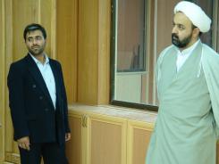 مدیر مرکز تحقیقات کامپیوتری علوم اسلامی قم؛ تالار علامه امینی
