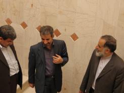 دیدار سید امیر منصور برقعی با مدیرعامل و معاونین موسسه اهل البیت؛ 1386/03/06