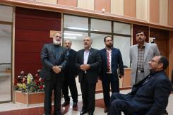 دیدار جناب آقای دکتر اسحاق صلاحی رئیس سازمان اسناد و کتابخانه ملی ایران با مدیرعامل و معاونین مؤسسه اهل البیت