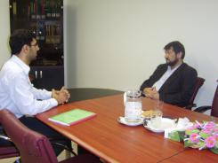 دیدار دکتر کرمانی با مدیرعامل و معاونین موسسه اهل البیت