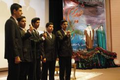 اجرای گروه تواشیح در مراسم عید سعید غدیر 1429(1387/9/27) سالن اجتماعات مؤسسه اهل البیت علیهم السلام