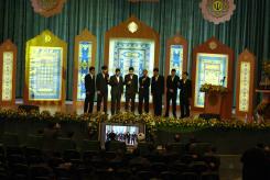 اجرای تواشیح در جشن سی امین سالگرد تاسیس دانشگاه صنعتی اصفهان 1388/9/24