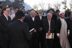 کلنگ زنی دانشکده پردیس معارف؛ 1387/9/23