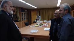 دیدار مدیرعامل و معاونین؛ دکتر سیدمصطفی صالحی؛ مدیرعامل گروه مهندسین مشاور زمین ساخت