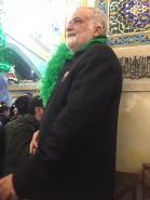 خادم الرضا(ع) حاج سیدحسین رضازاده در مشهد مقدس