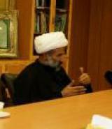 حجت الاسلام و المسلمین محمد امین غفوری مدیر حوزه علمیه زینبیه در سوریه